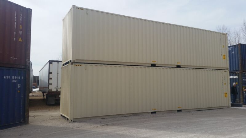 New 40ft Shipping Container - FORT WORTH, TX