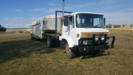 Hino Truck and Gooseneck Trailer Horse Float