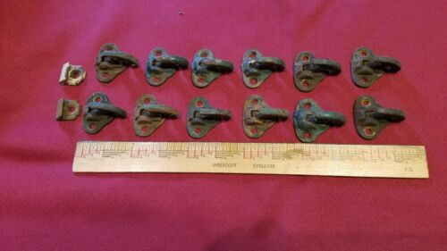 12 Matching vintage shutter catches latches Lot 3 of 6 salvage