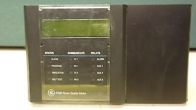 GE POWER QUALITY METER MODEL# PQM-T20-C-A W/ EXTRA CONTROLL HEAD