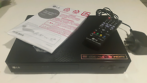 LG DP250 Bluray/DVD/CD player valued at $110. Hamilton Brisbane North East Preview