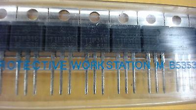Motorola Tip31c To-220 100v 3a Power Npn Transistor New Lot Quantity-10