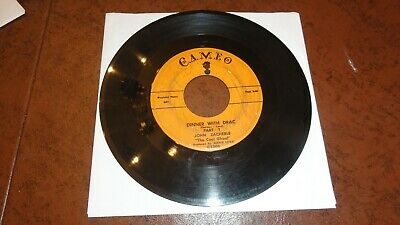 JOHN ZACHERLE: Dinner with Drac Halloween Novelty CAMEO 45 from 1958