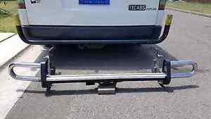 Toyota hiace long weell base rear tow bar original toyota parts Auburn Auburn Area Preview