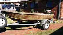 12ft savage tinny fishing or duck hunting boat with 9hp johnson Mernda Whittlesea Area Preview