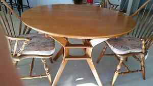 Dining table and 4 chairs Tocumwal Berrigan Area Preview