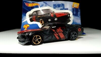 Hot Wheels '69 FORD MUSTANG BOSS 302  2019 Mystery Models 3 GOLD CHASE VHTF