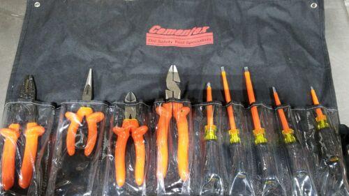 Cementex TR-9ELK Insulated Electricians Tool Kit - 9 Piece 1000 Volt