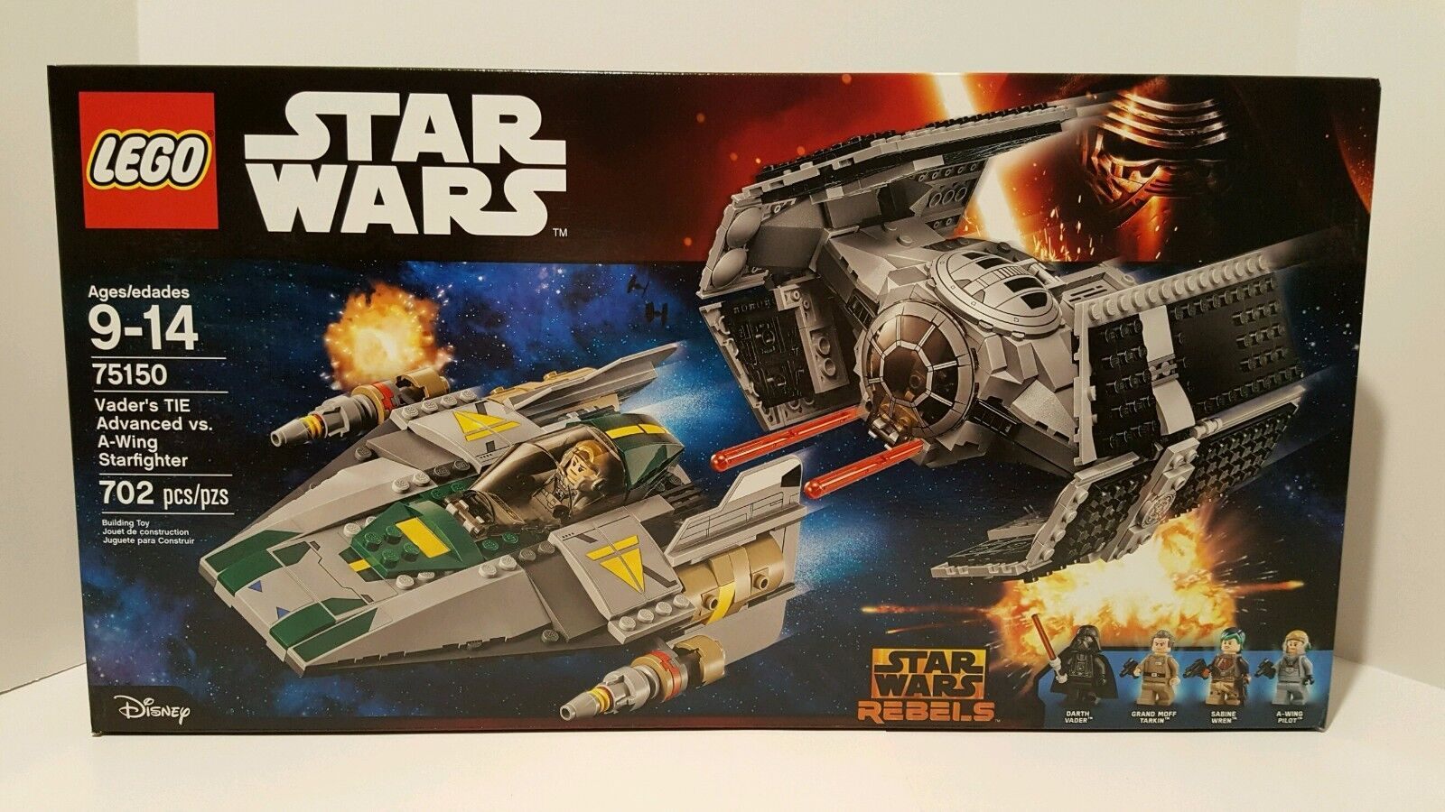 Lego - LEGO Star Wars Vader's Tie Fighter Advanced vs. A-Wing 75150 New and Sealed