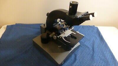 Leitz Wetzlar Ortholux Trinocular Microscope Germany Vintage