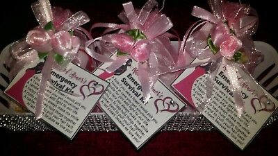 4 BRIDESMAIDS THANK YOU SURVIVAL KIT Thank You Keepsake Gift ](Bridesmaids Gift)