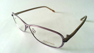 LADIES DESIGNER FRAMES GALSSES BY TOM FORD - FT5161- SIZE 58 - LILAC - CLEARANCE