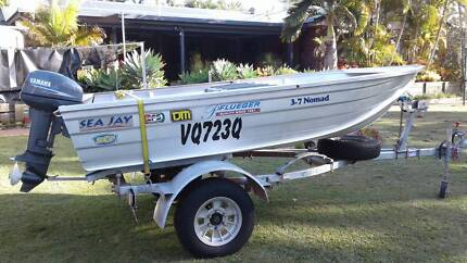 Sea Jay 3.7m Nomad Runabout Boat Burpengary Caboolture Area Preview