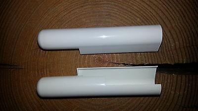 GU Abdeck Kappe 937725 Rechts für Ecklager für Holz + Kunstoffenster Farbe Weiß