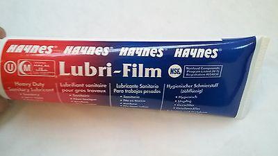 Haynes Lubri-Film sanitary lubricant - 4 oz tube