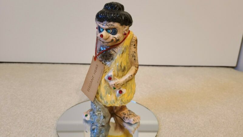 "VINTAGE KREISS PSYCHO CERAMICS ELEGANT HEIRS RARE ""YOU DON"