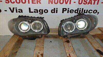 BMW SERIE 1 ONE E81 E87 FARO FARI PROIETTORE FANALE FANALI XENON + CENTRALINA