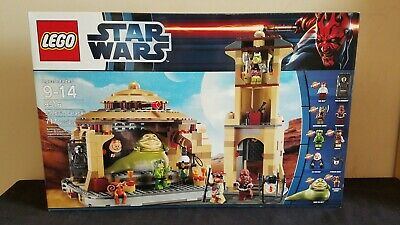Lego Star Wars Jabba's Palace 9516 RARE NEW NRFB SEALED RECALLED HAN CARBONITE