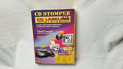 New CD Stomper Pro Labeling System Factory Sealed