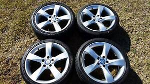 18 inch Genuine MERCEDES BENZ C-CLASS C350 W204 WHEELS and Tyres Rooty Hill Blacktown Area Preview