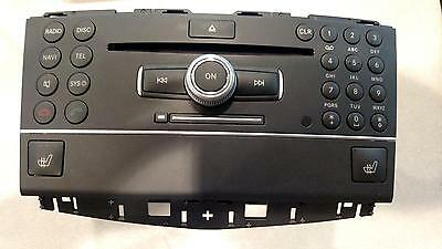 11 12 MERCEDES GLK-CLASS OEM Radio Receiver Control ID# 2049009806 see video