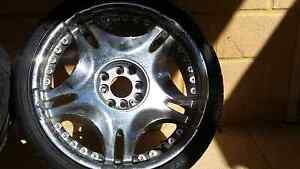 18 inch chrome rims and tyres Burns Beach Joondalup Area Preview