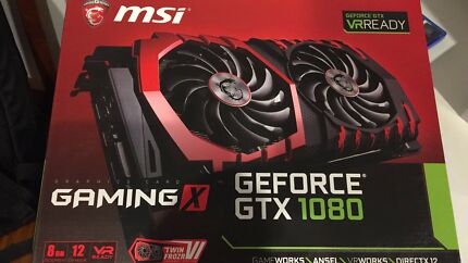 MSI Gaming X - GeForce GTX 1080 8GB