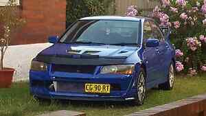 MITSUBISHI LANCER EVO 7 2001 FRENCH BLUE LOW KM 80,000 KM Belmore Canterbury Area Preview