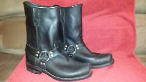 Biker Boots, Harness Boots, Motorcycle Boots Mens 13US 3E South Hobart Hobart City Preview