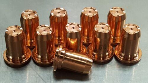 "10pc PT-60 iPT60 iPT-60 PT-40 40A Plasma ""Contoured Drag Cut"" Nozzles"