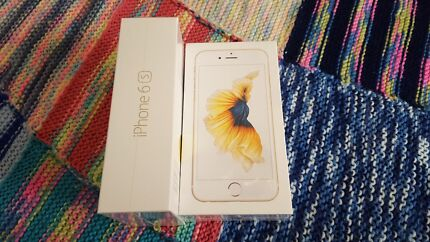 iPhone 6S gold 128GB sealed in box Holden Hill Tea Tree Gully Area Preview