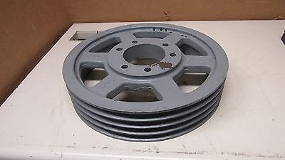 Tb Woods 5v14.0-4 E Steel 4 Groove V Belt Pulley Sheave 14 Od 3-34 Bore