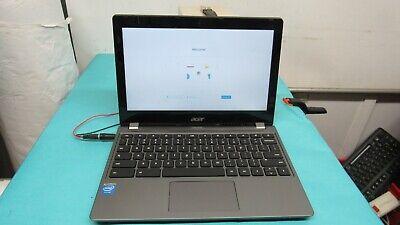 Acer Chromebook 11.6 C740P-C4PE Intel Celeron 1.50GHz 3205U 4GB RAM 16GB SSD