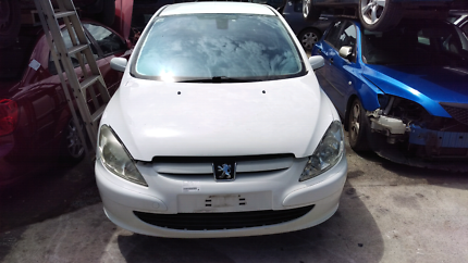 Wrecking now, 2003 Peugeot 307 Blaxland Blue Mountains Preview