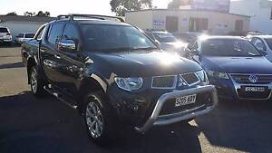 2012 Mitsubishi Triton 4x4 TURBO DIESEL AUTOMATIC GLX-R Dual Cab Clovelly Park Marion Area Preview