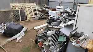 The scrap man will pick up your metal and other items. Warwick Farm Liverpool Area Preview