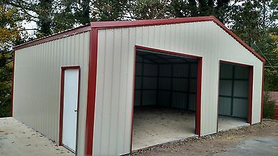 Metal Building Kit24wx30lx8hbrand Neweasy Installationlocal Delivery