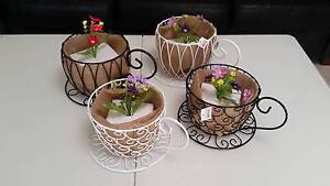 Set of 4 Ornamental Pot Plant Holders (New) Noranda Bayswater Area Preview