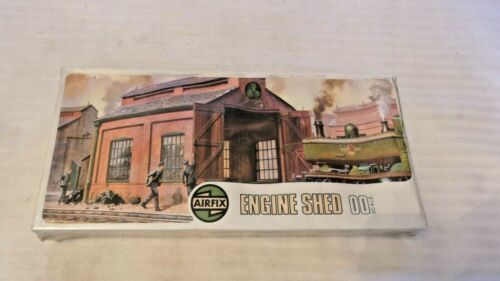 OO Scale Airfix Engine Shed Kit, Vintage Sealed, BNOS #208