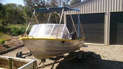 4M SAVAGE KESTREL ALUMINIUM RUNABOUT BOAT FOR SALE (TINNY) Toowoomba Surrounds Preview