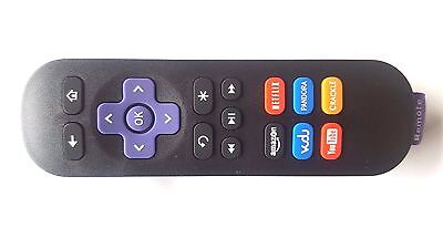 For ROKU 1/ 2/ 3/ 4 LT HD XD XS Latest REPLACEMENT IR Remote Control UK