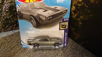 2018 Hot Wheels #79 HW Screen Time 8/10 ICE CHARGER The Fate of the Furious