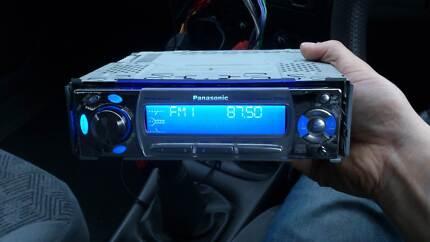 Panasonic CD Receiver Car Stereo Head Unit Model No CQ-C5400W Elwood Port Phillip Preview