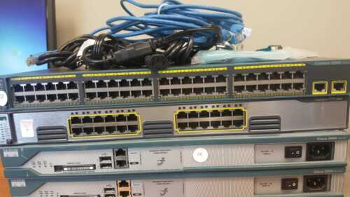 Advanced Cisco CCNA V3 and CCNP home lab kit Latest IOS
