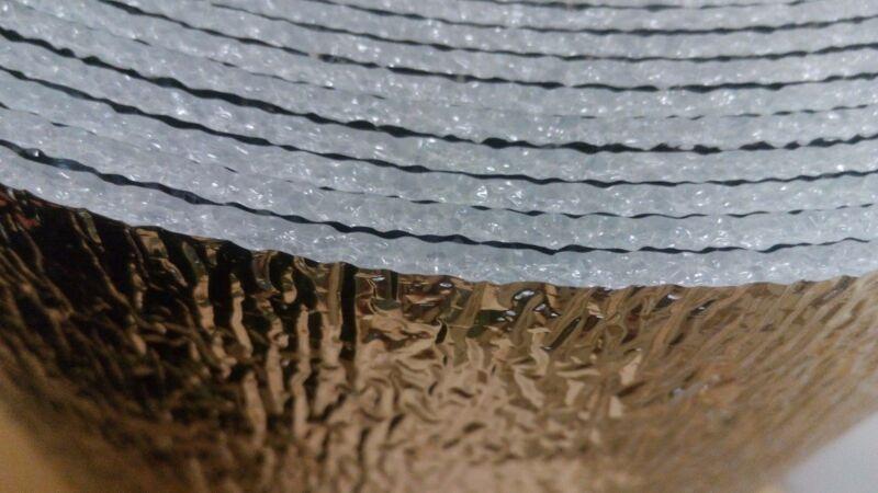 200sqft Reflective Foam Insulation Heat Shield Thermal Insulation 4/'x50/' AD5