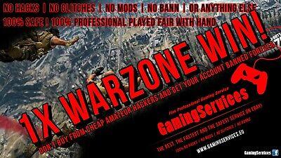 CALL OF DUTY MODERN WARFARE WARZONE WIN