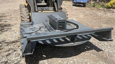 New Wolverine 72 Hydraulic Skid Steer Brush Cutter Bush Hog Mower