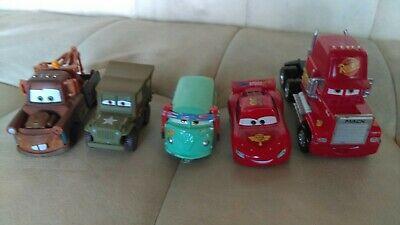 Disney Pixar Cars Diecast Lot Rare Team McQueen Sarge Mater Fillmore Mack