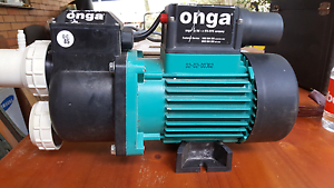 Onga spa bath pump heater Bonny Hills Port Macquarie City Preview