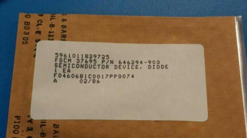 (1 PC) 5961-01-182-9725 646294-903 DKV6515B-099-001 Varactor diode